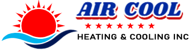 Air Cool Heating & Cooling Logo